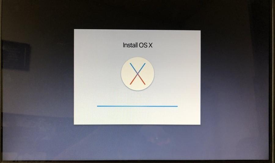 mac OS X installation
