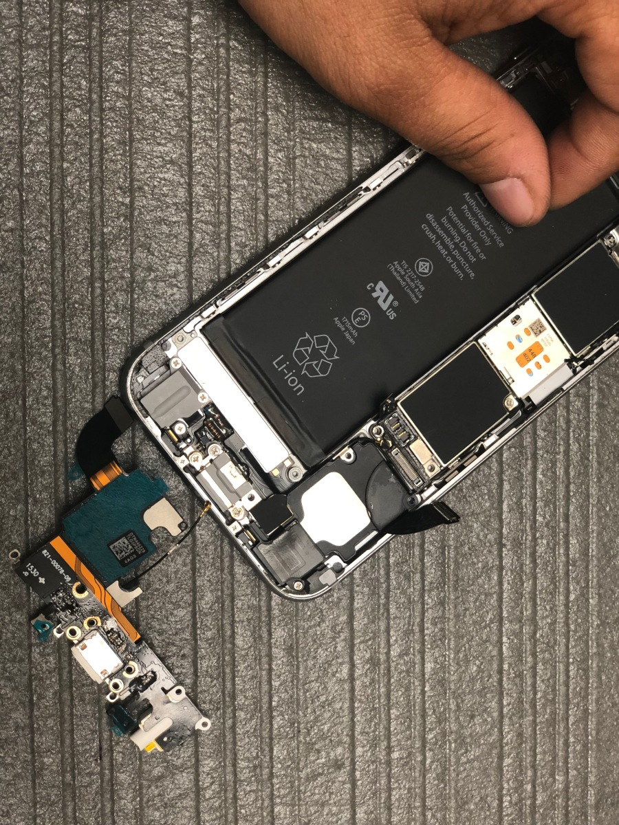 iphone charging port fix