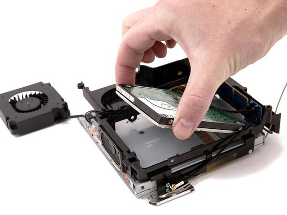 apple macmini harddrive replacement