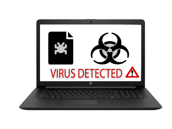 virus detected pc