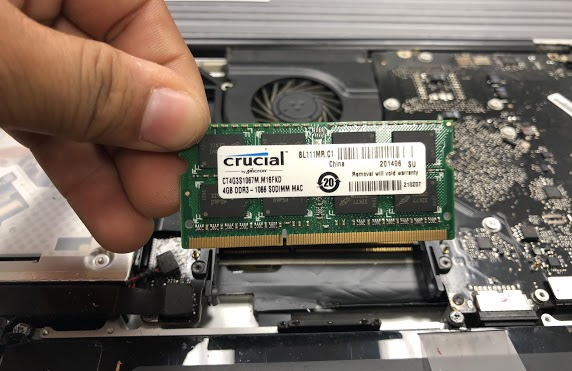 macbook ram upgrade richardson dallas texas