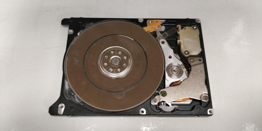Physical damage Hard drive