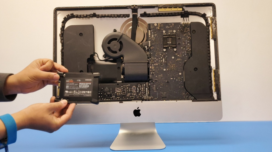iMac Hard drive replacement ifixgeek richardson